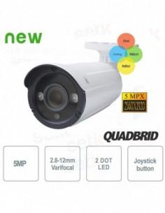 Caméra Bullet Hybride 5MP...