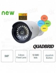 Caméra Hybride 5MP 3.6mm...